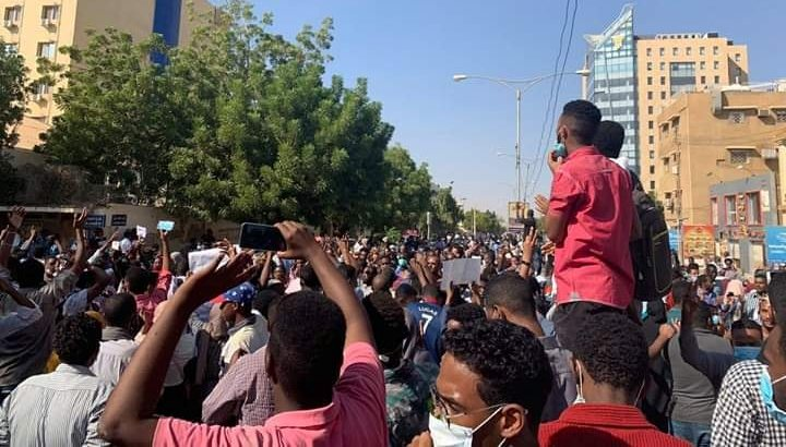 Photo of Statement of solidarity with the Sudanese people