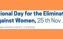 Photo of On International Day for the Elimination of Violence Against Women