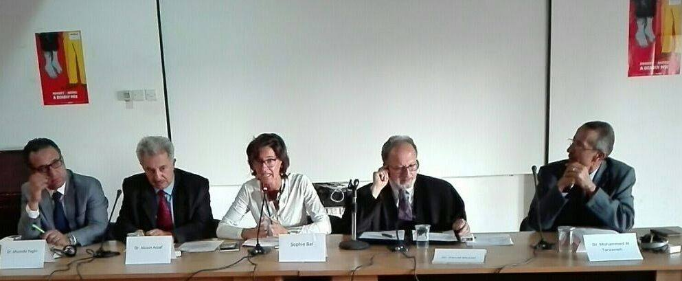 "Photo of the symposium entitled "" The death penalty in Jordan: Between reasons of retention and attempts to abolish """